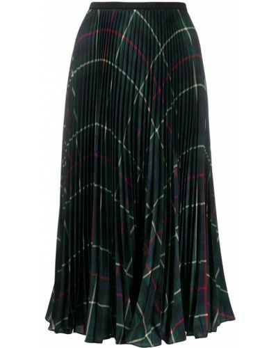 Платье с завышенной талией плиссированное Polo Ralph Lauren