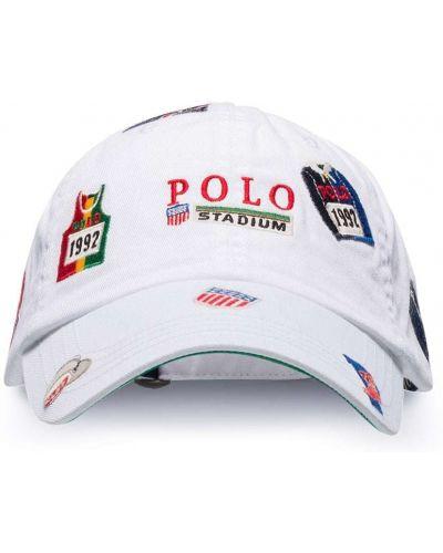 Bawełna bawełna biały koszulka polo z haftem Polo Ralph Lauren
