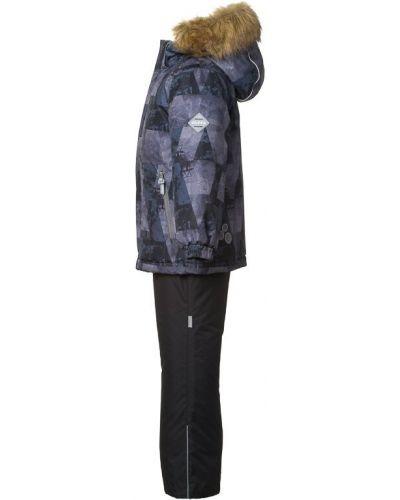 Брюки на резинке с мехом зимние Huppa