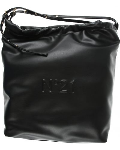 Czarna torebka zimowa No. 21