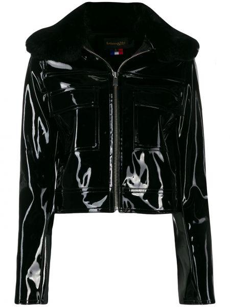 Черная короткая куртка La Seine & Moi