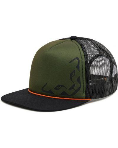 Zielona czapka z daszkiem Dynafit