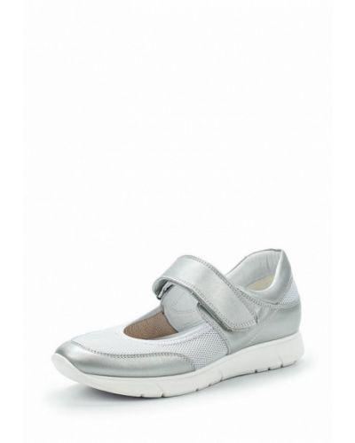 Серые туфли кожаные Ralf Ringer