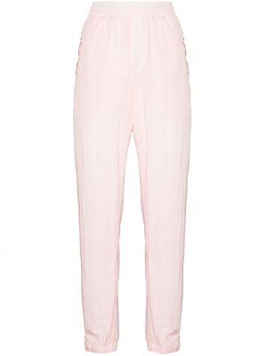 Spodnie z haftem - różowe Givenchy