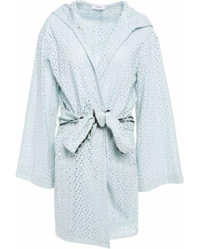 Ватный хлопковый халат с поясом Marysia