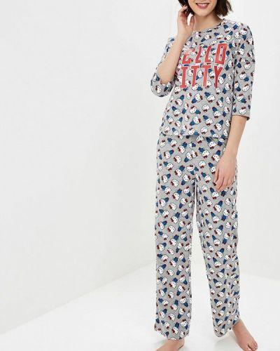 Пижама серая пижамный Tezenis