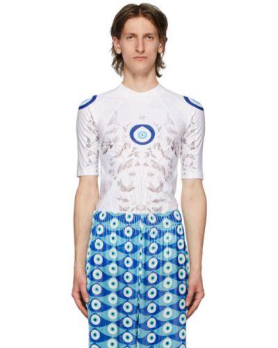 С рукавами синяя рубашка с короткими рукавами с воротником стрейч Gmbh