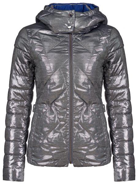 Куртка из полиэстера - серебряная Trussardi Jeans