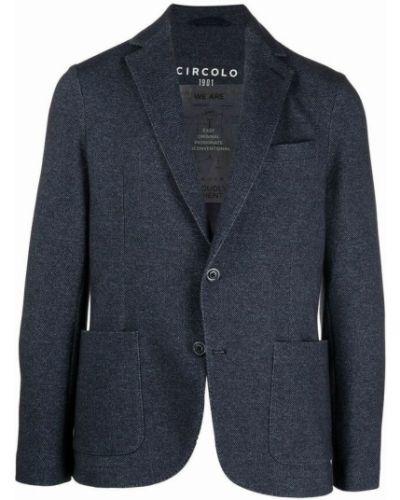 Niebieska kurtka Circolo 1901