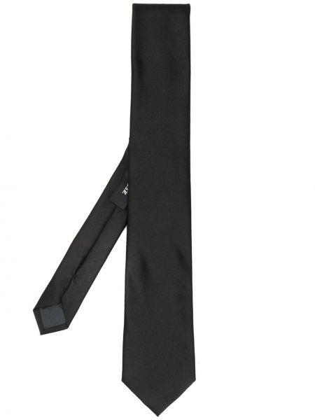 Черный галстук Z Zegna