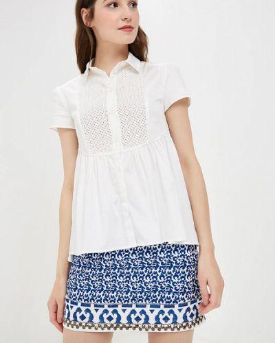 Блузка с коротким рукавом белая весенний Prio