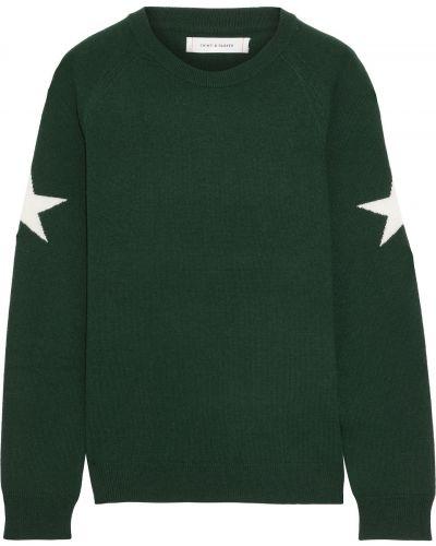Кашемировый свитер - зеленый Chinti And Parker