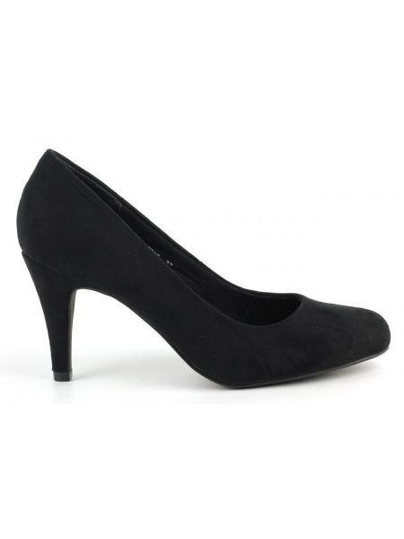 Кожаные туфли - черные Plato