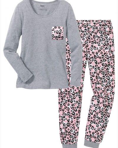 Пижама с брюками с длинными рукавами с карманами Bonprix