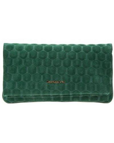 Клатч зеленый Di Gregorio