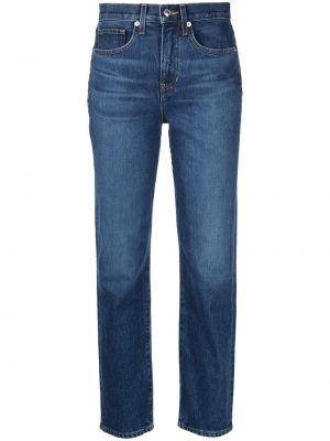 Синие хлопковые джинсы Veronica Beard