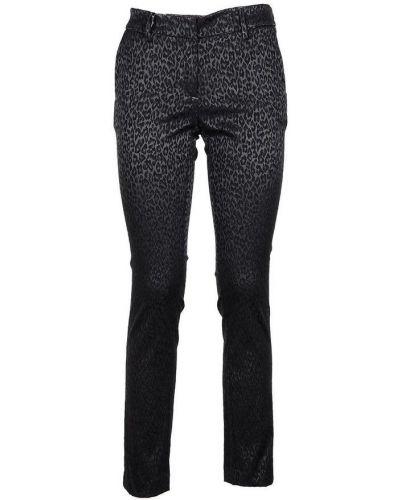 Czarne spodnie Messagerie