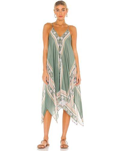 Шелковое платье - зеленое Seafolly