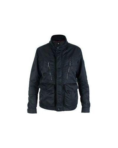 Куртка с капюшоном демисезонная на пуговицах Strellson