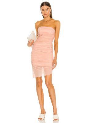 Платье с декольте с подкладкой с оборками Majorelle