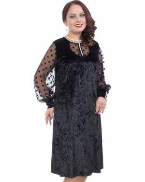 Вечернее платье сетчатое платье-сарафан Wisell