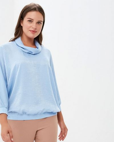 Голубая блузка Lina
