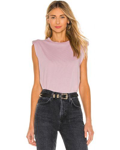 Światło bawełna bawełna różowy bluzka Iro