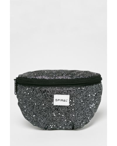 Маленькая сумка черная Spiral