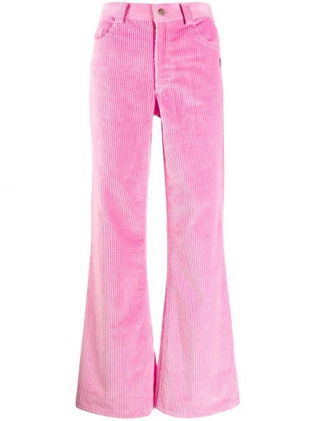 Брюки вельветовые розовый Marc Jacobs