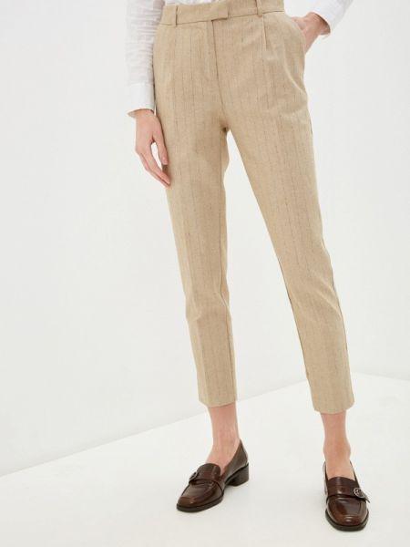 Классические брюки бежевый весенний Savage