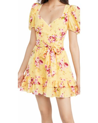 Платье мини с декольте Likely