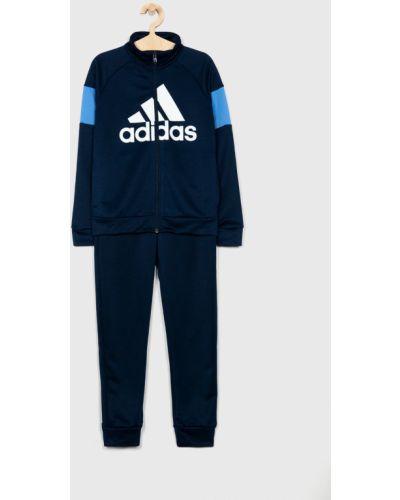 Темно-синий спортивный костюм Adidas Performance