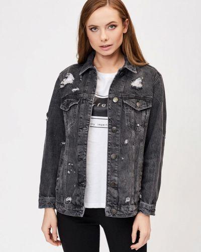 Серая джинсовая куртка Whitney