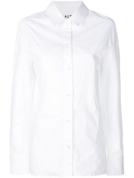Biała koszula bawełniana Aalto