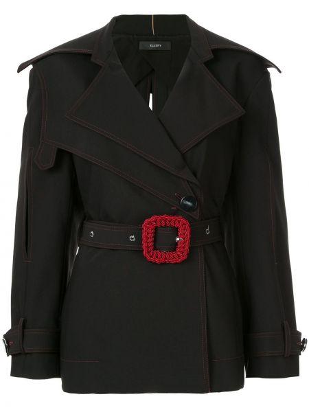 Куртка черная на пуговицах •ellery•