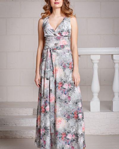 Летнее платье из штапеля с поясом Filigrana
