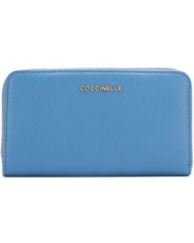 Голубой кошелек Coccinelle