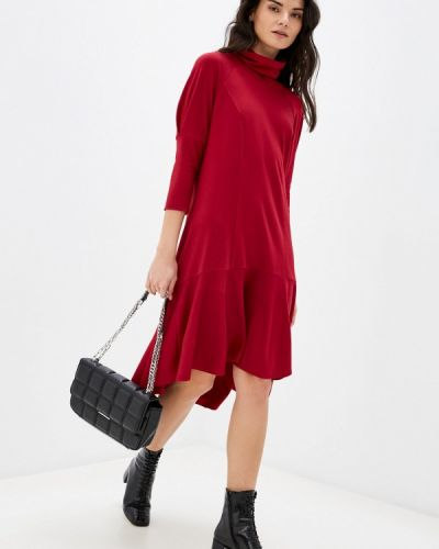 Платье - красное Adzhedo