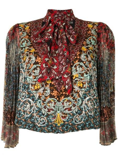 Блузка с бантом из вискозы Alice+olivia