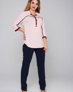 Блузка шелковая большой Mari-line