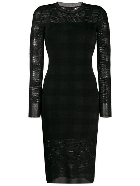 Платье макси с длинными рукавами шерстяное Rag & Bone