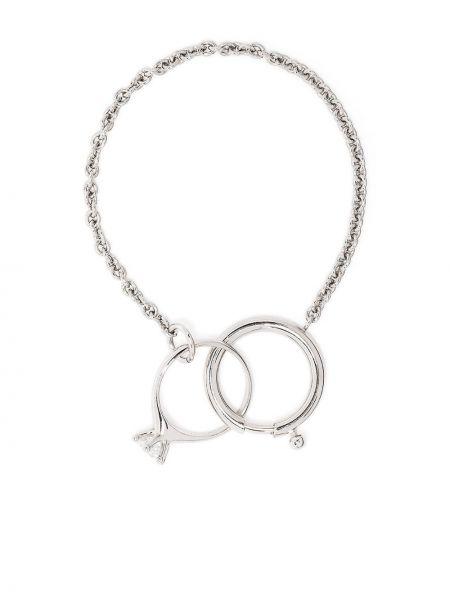 Żółty pierścionek szafir srebrny Dheygere