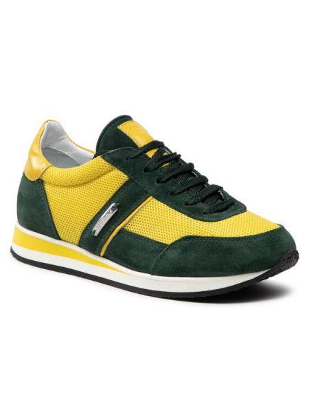Żółte sneakersy Rage Age