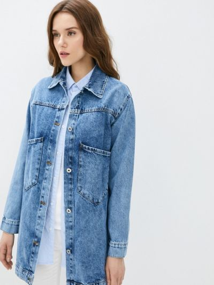 Джинсовая куртка - синяя Grafinia