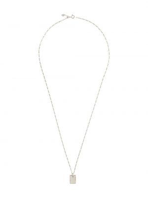 Золотистое черное ожерелье круглое Maria Black