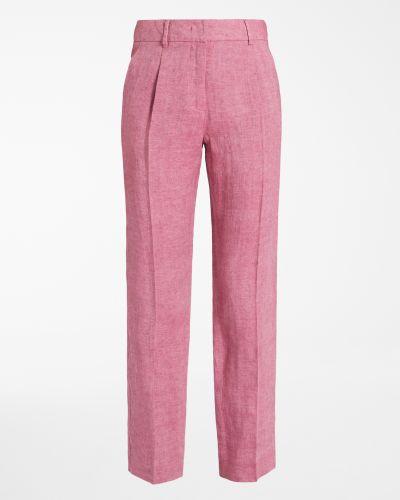 Розовые брюки Maxmara