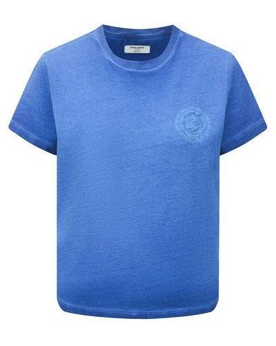 Хлопковая футболка - синяя Opening Ceremony