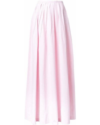 Юбка макси шелковая розовая Michael Kors Collection