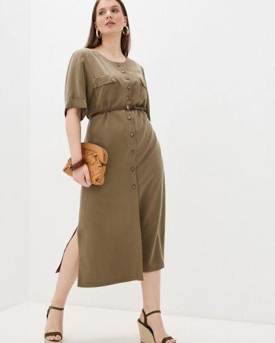 Платье - зеленое Electrastyle