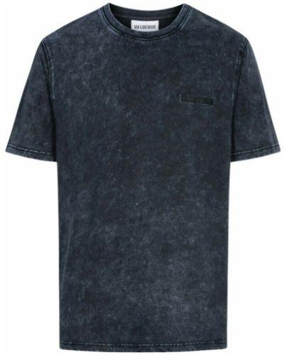 Niebieska t-shirt Han Kjobenhavn